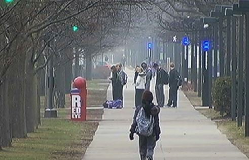 Northwestern University locks down, warns about gunman on campus