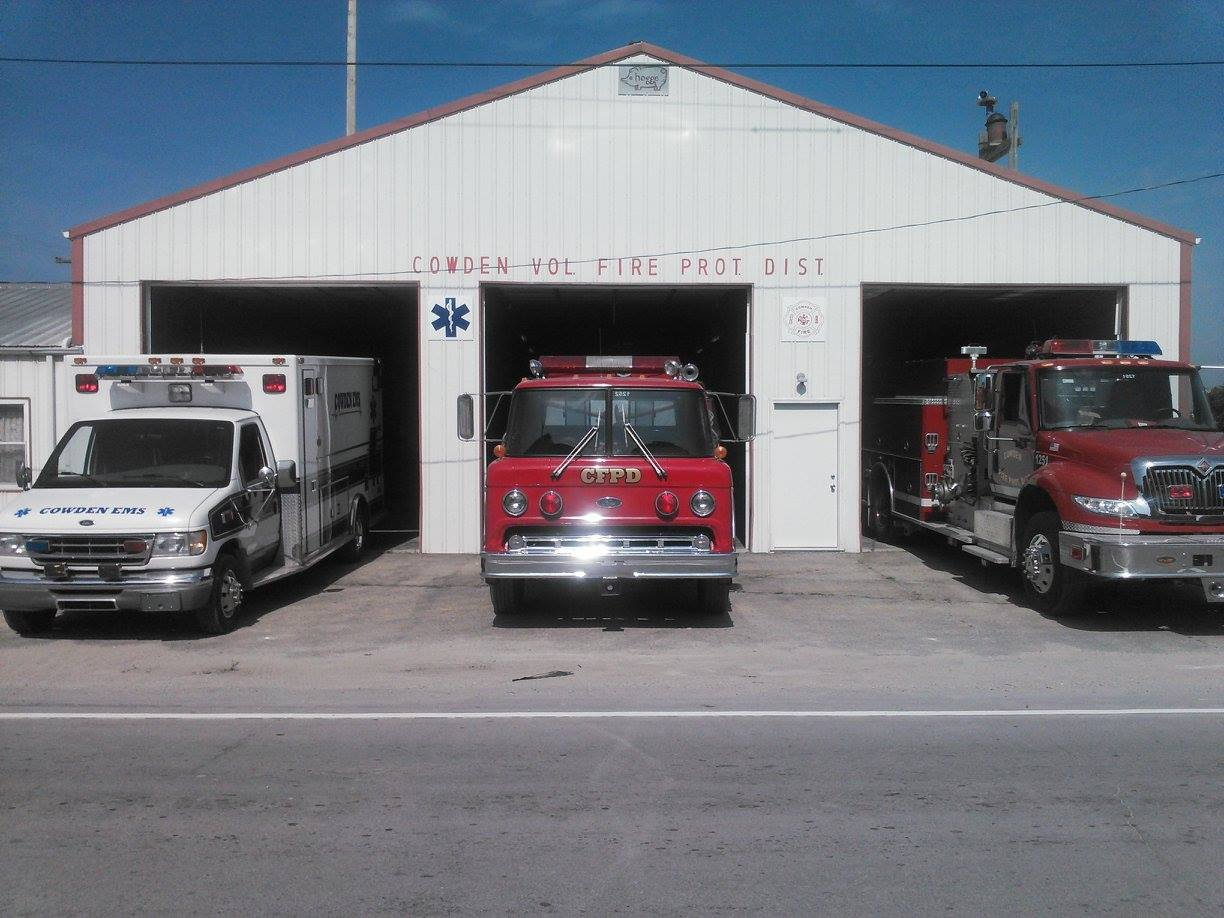 (Provided Photo/Cowden Fire Protection District)