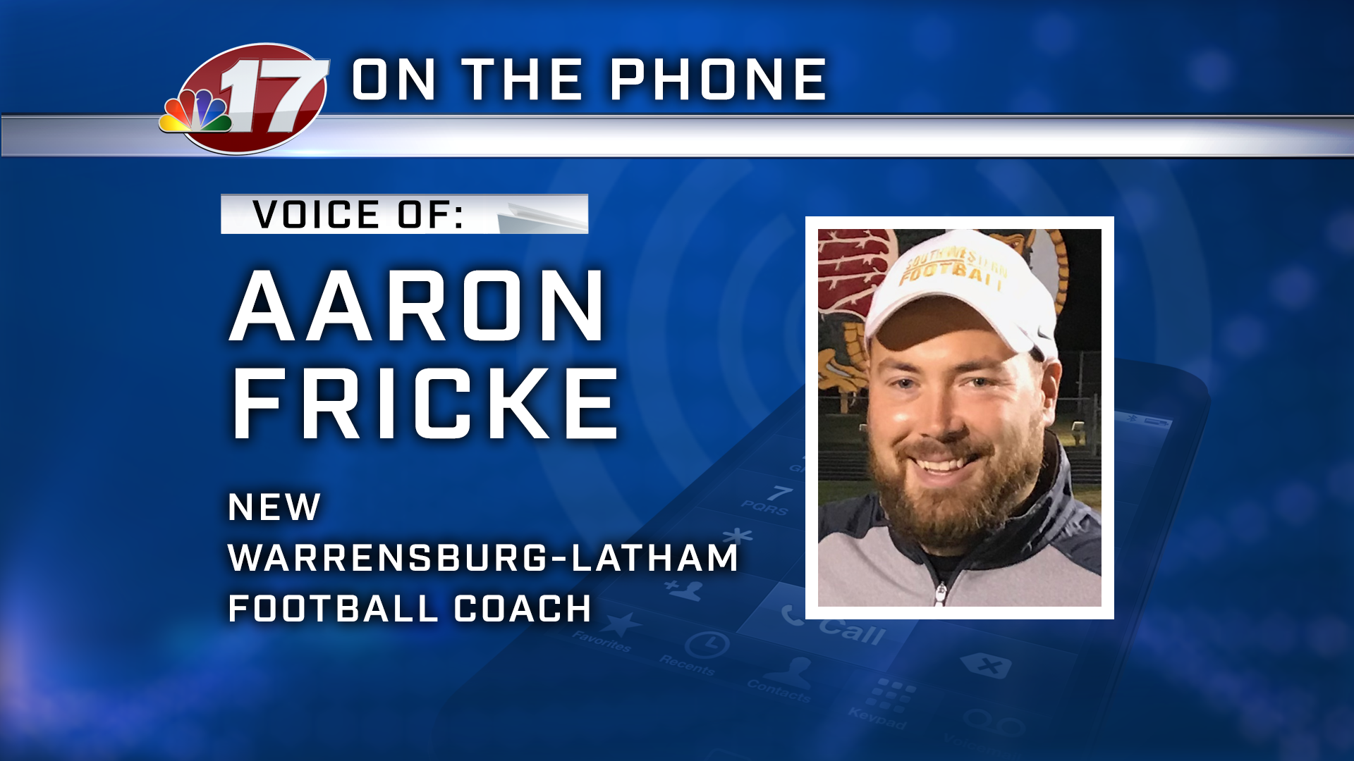 Aaron Fricke comes to Warrensburg-Latham after six years as head coach of Southwestern (Piasa).