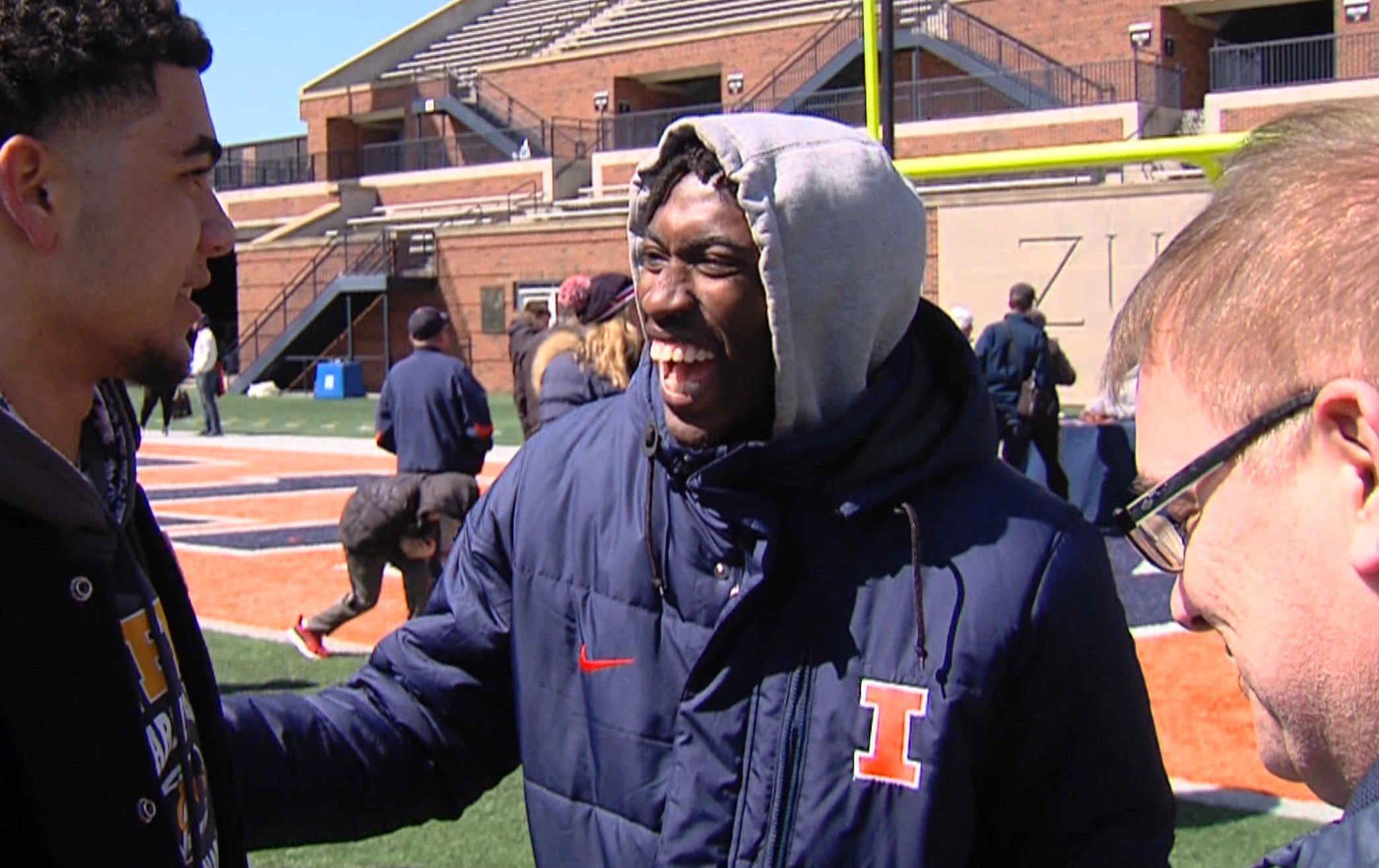 Marquez Beason is a national top 60 prospect who has been an outspoken Illini recruiter among fellow Class of 2019 members and beyond, including at Saturday's spring scrimmage.