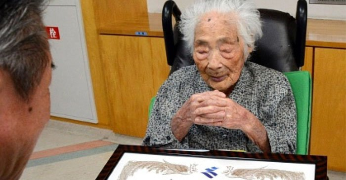 In Japan, died the oldest woman on the planet