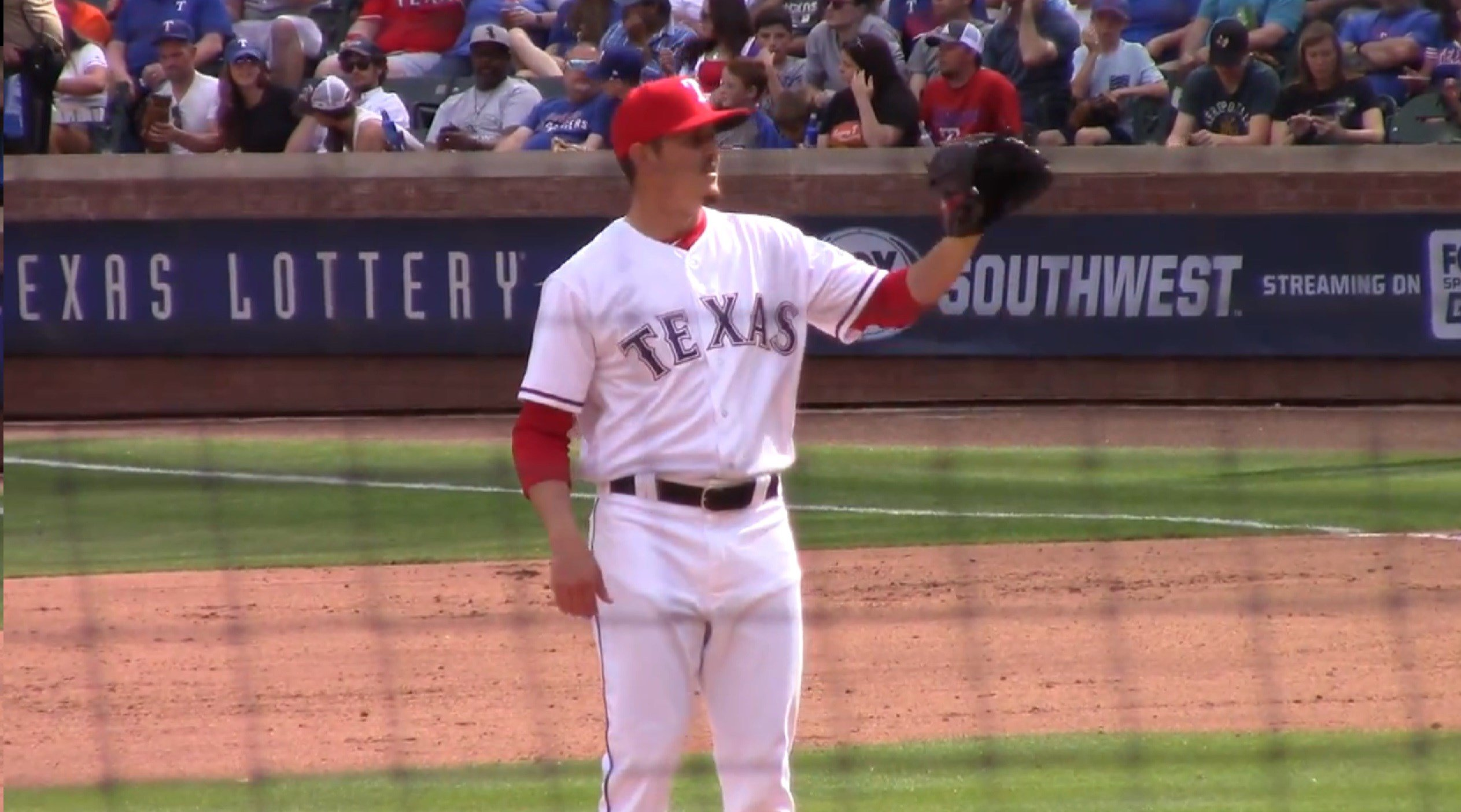 Nick Gardewine graduated from Effingham High School in 2012 and then spent a season at Kaskaskia College before being drafted in the seventh round of the 2013 draft by the Rangers.