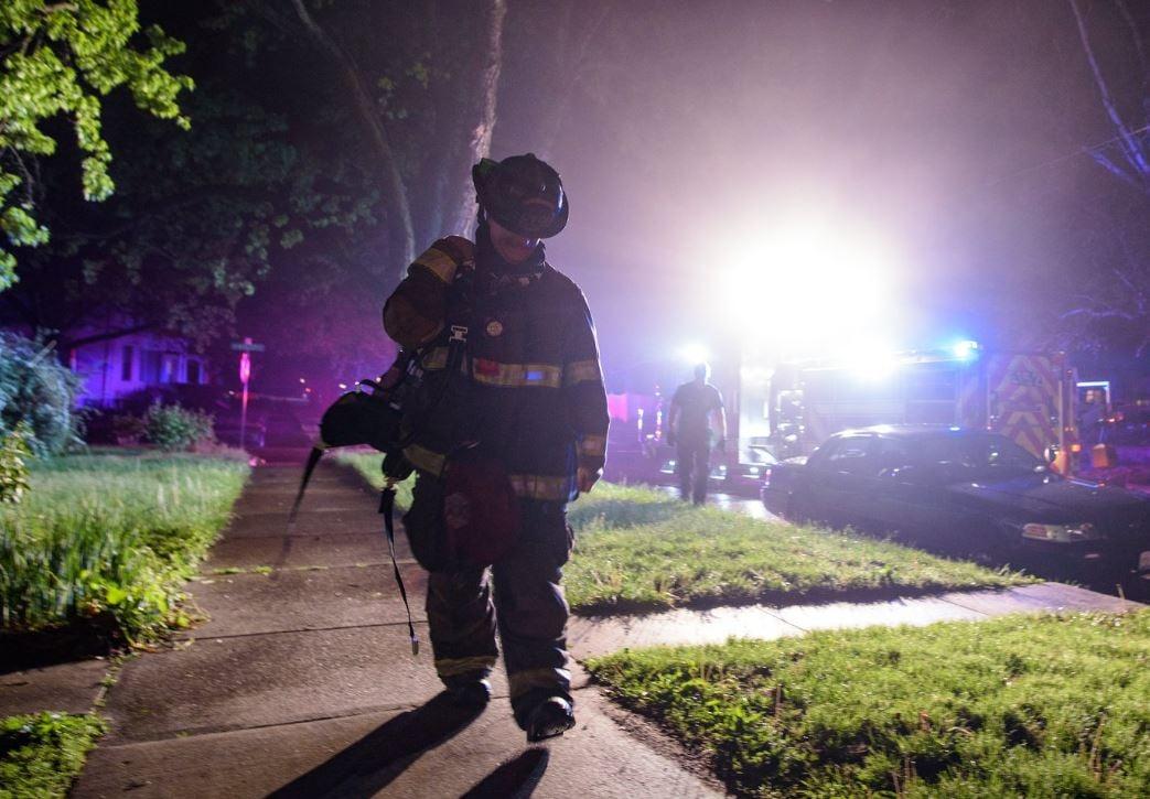 Photo: Champaign Fire Dept.