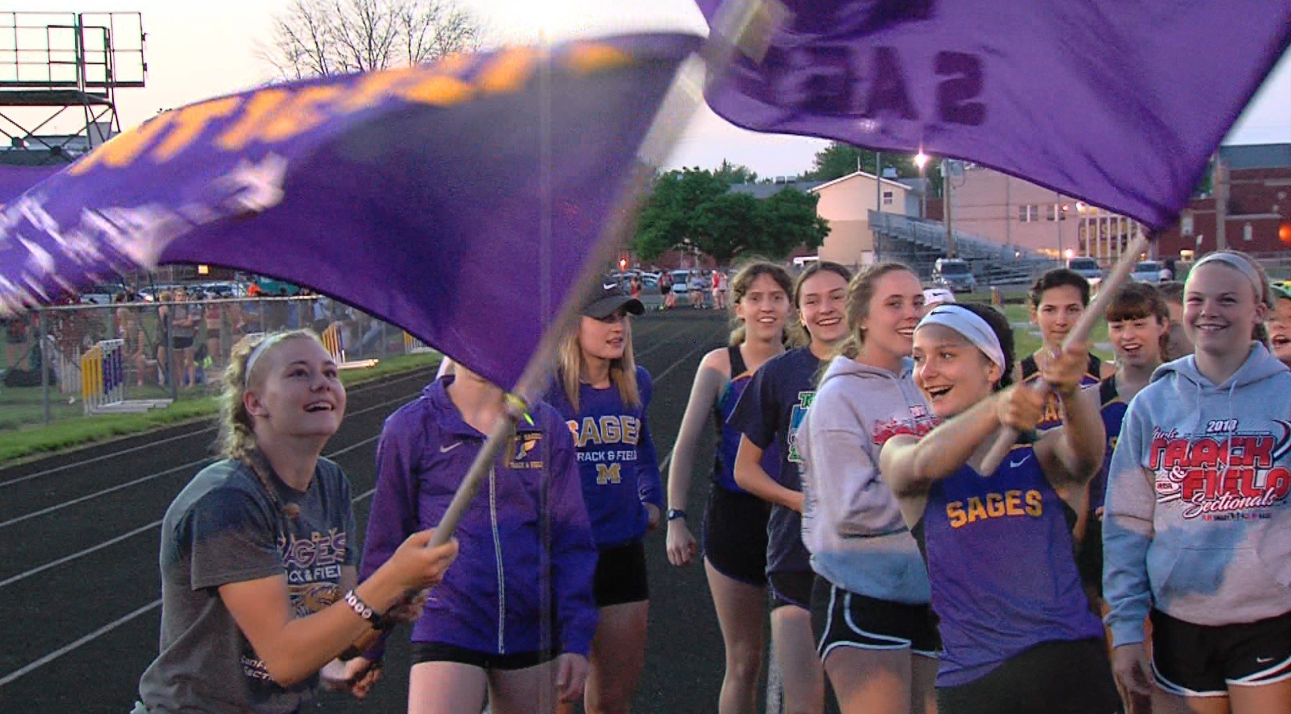 Monticello celebrates its fourth straight sectional title on Thursday night on the Sages' home track.