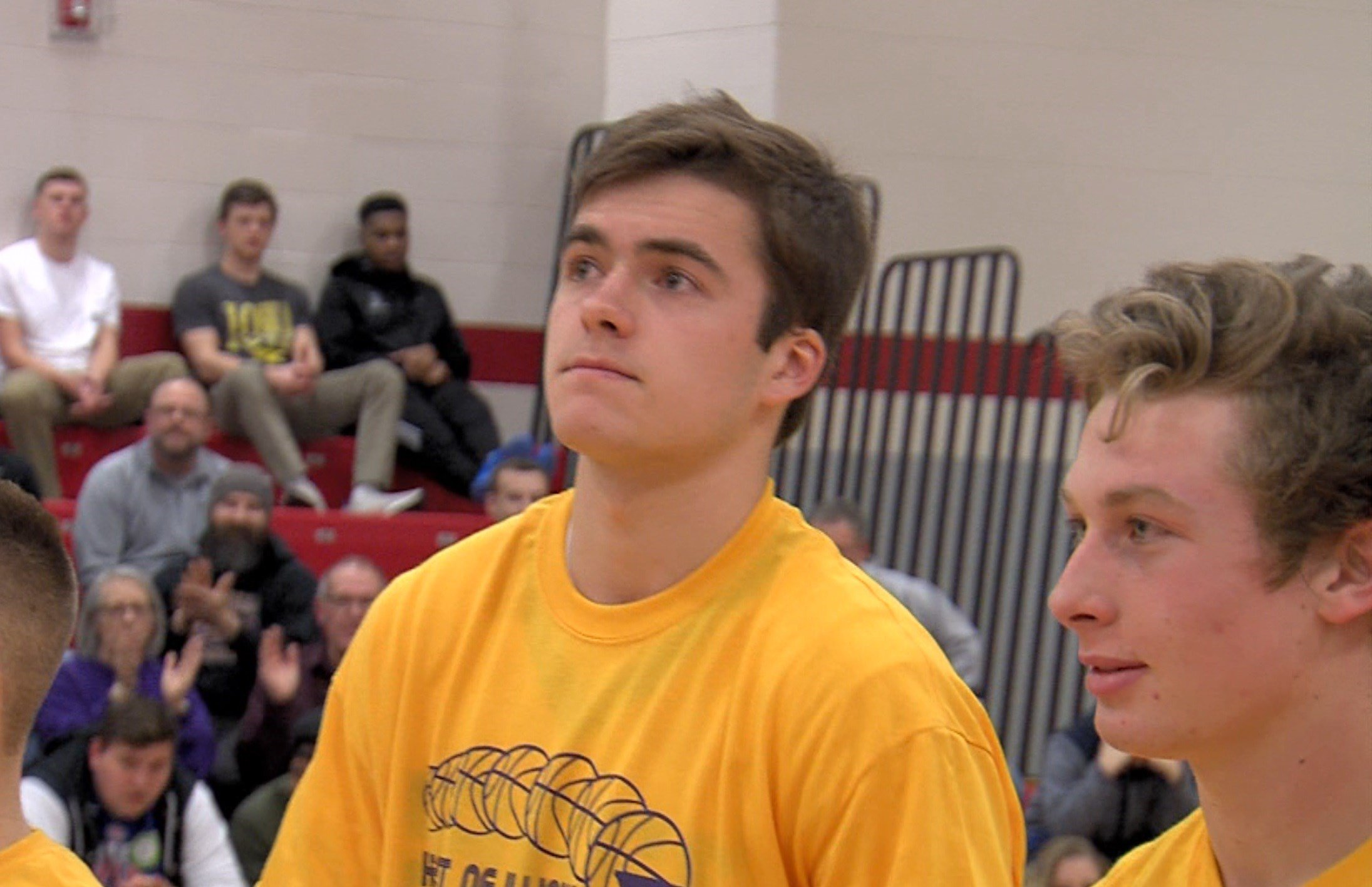 Monticello all-state wing Calvin Fisher will play with his brother Zac at the next level after signing with Millikin.
