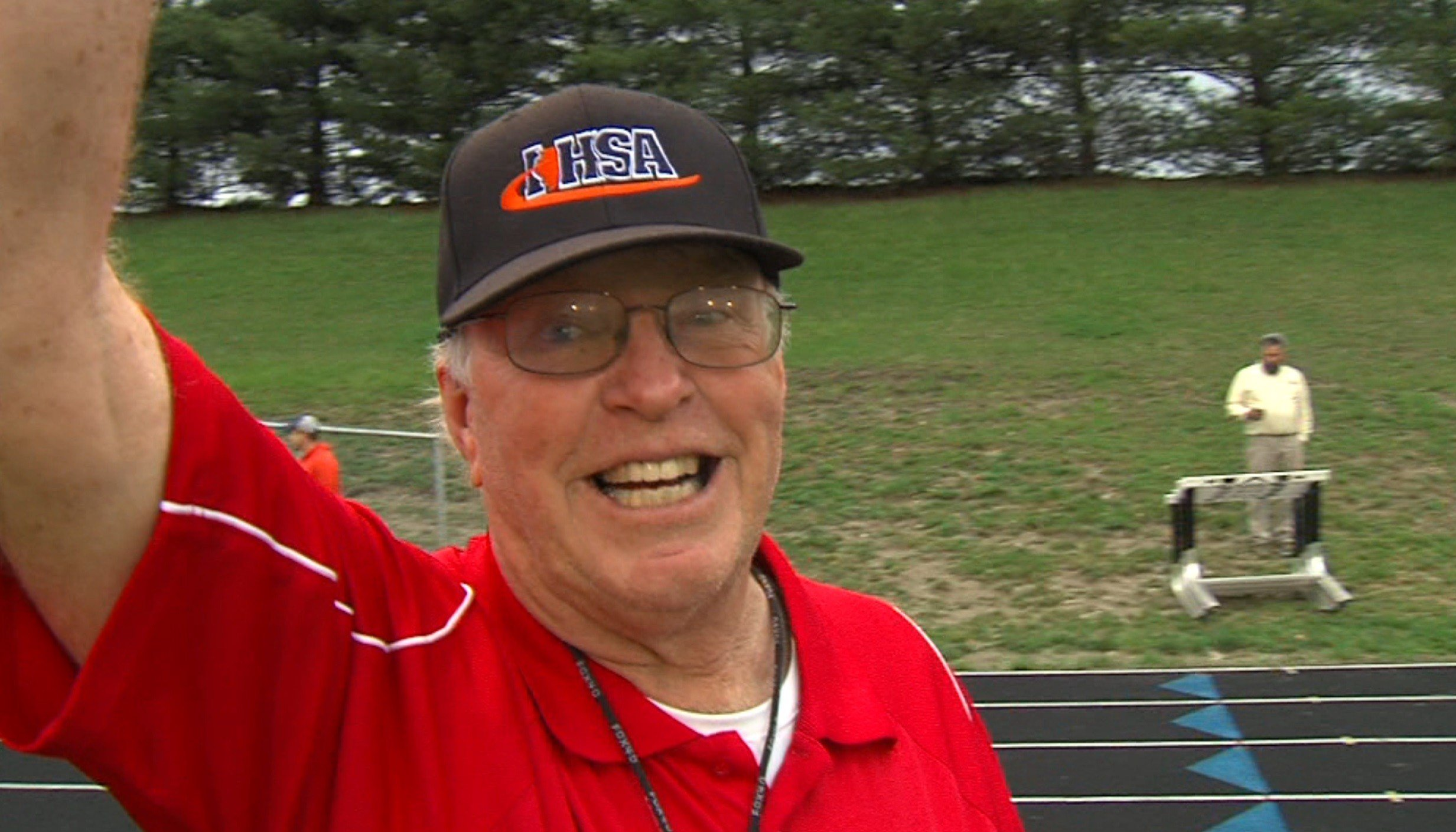 Effingham native Dave Feldhake has been giving his time to youth sports for 45 years.