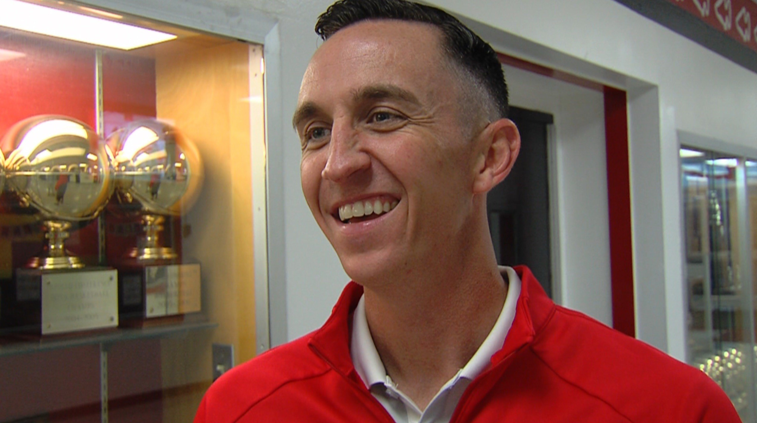 Mt. Zion head coach Bryon Graven and the Braves hosted nearly 20 teams on Monday for the annual Mt. Zion Shootout.