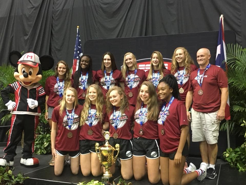 The Illini Elite 14U Cardinal team took home third place at nationals in Orlando this week.
