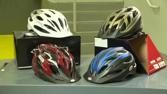 Researchers compare protectiveness of bike helmets