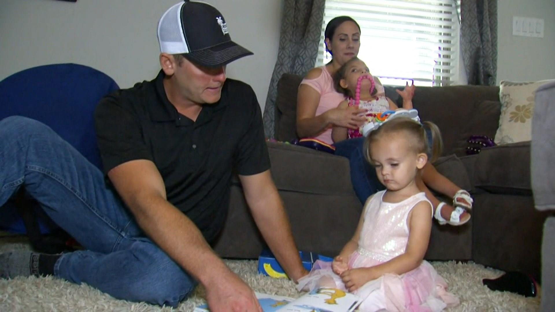 Texas family considers divorce to pay for daughter's healthcare bills