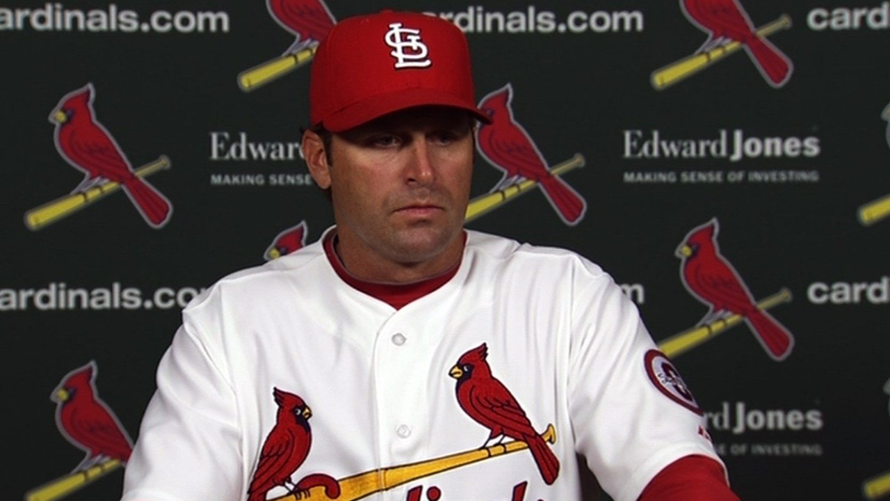 Mike Matheny was one of three Cardinals coaches fired after Saturday night's loss to the Reds.