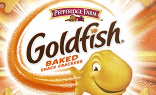 Four flavors of Goldfish recalled due to salmonella concerns