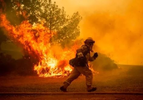 Largest wildfires in California history
