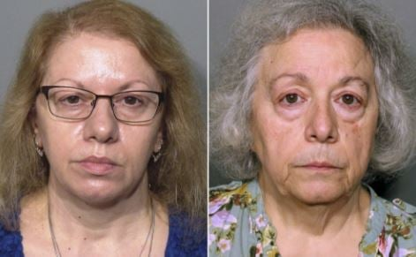Joanne Pascarelli (left) and Marie Wilson (right)