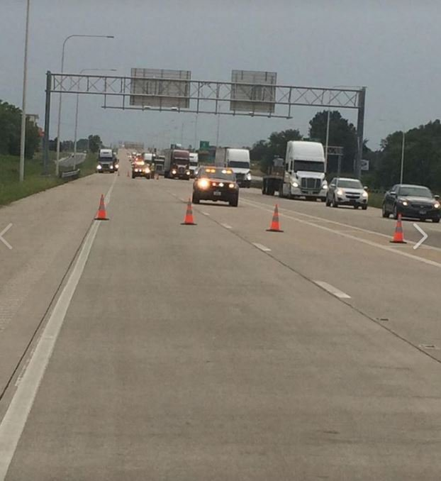 Two Semi-trucks Involved In I-70 Crash