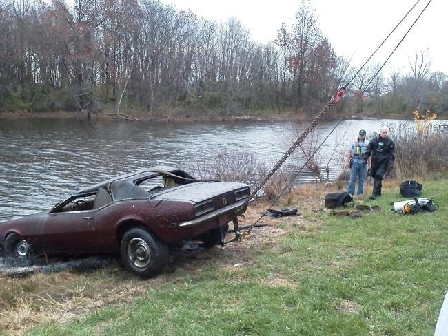 Car Found In Montrose Lake