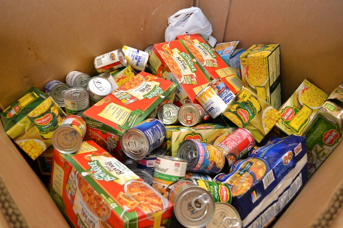 Image result for donated foods for Student Hunger Challenge