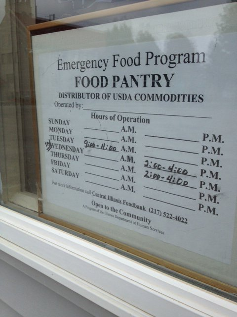 food pantry burglarized wandtv com newscenter17 stormcenter17 central illinois news