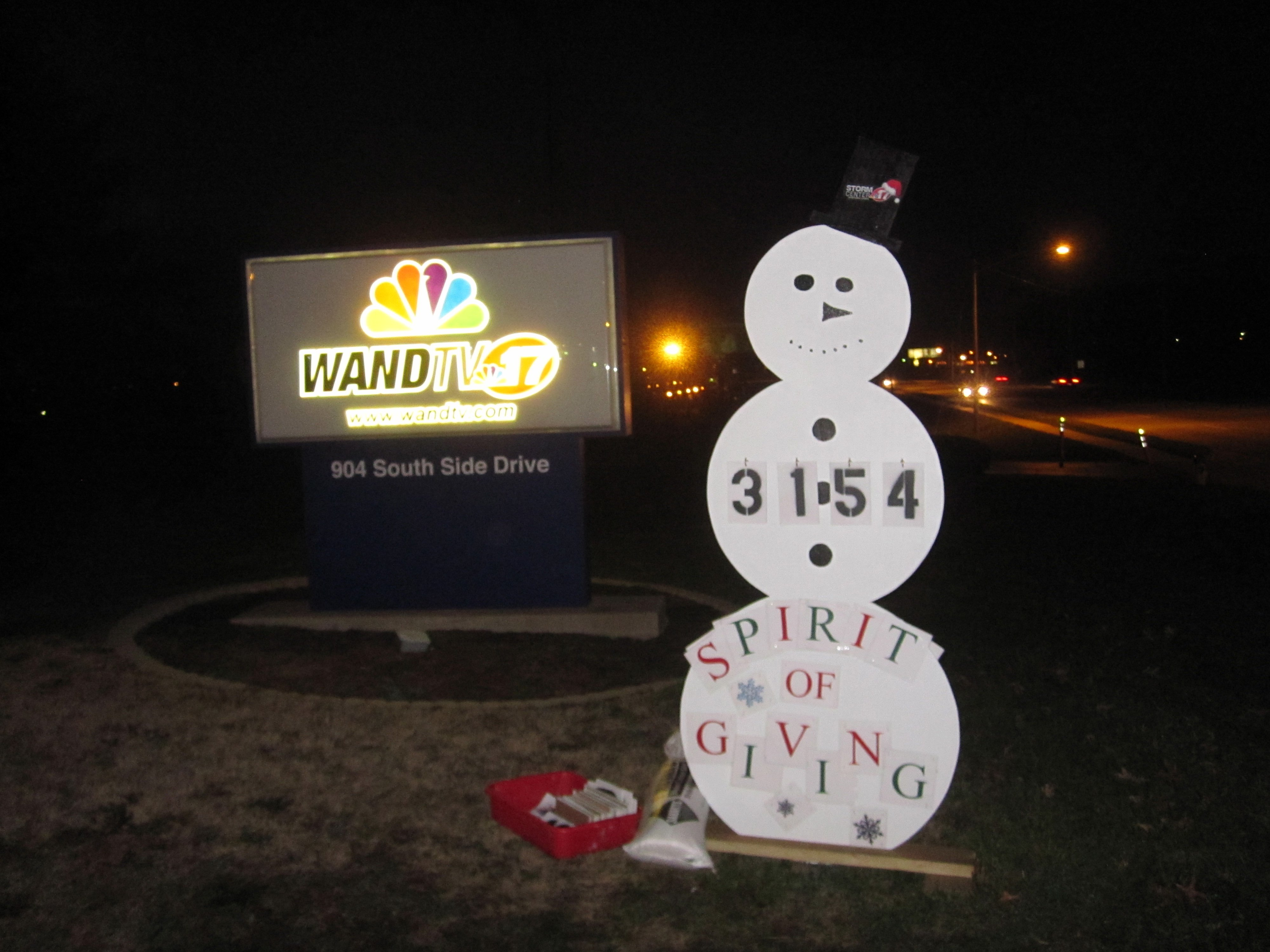 Spirit of Giving Collection for Toys for Tots  Wandtv