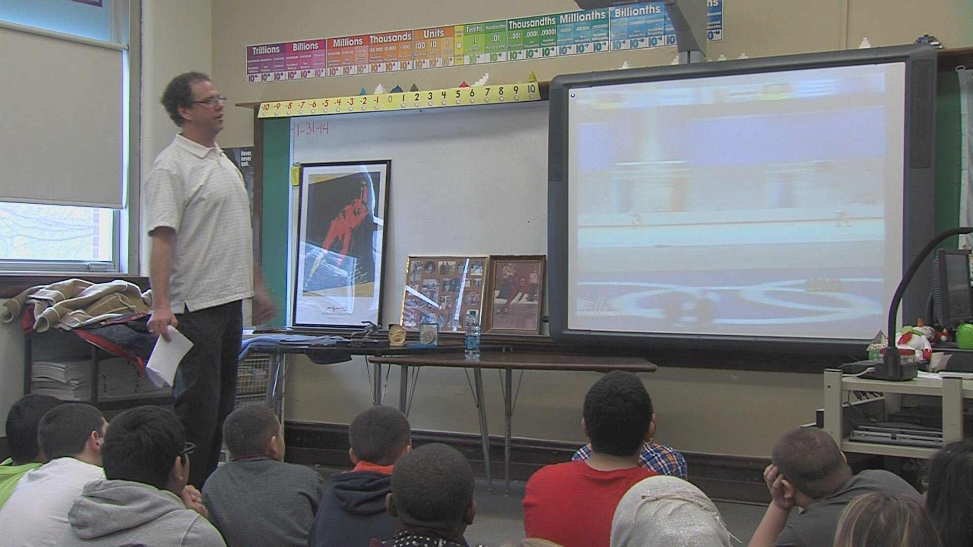 Wand Tv Local News Headlines = decatur students meet olympian
