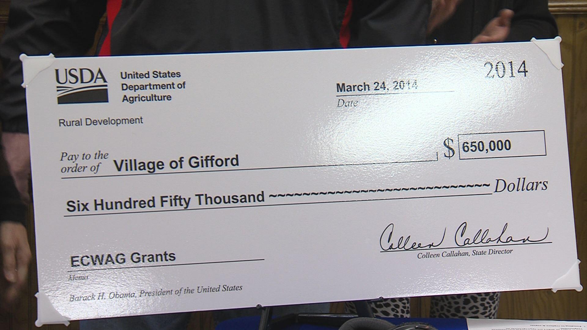Government grants??