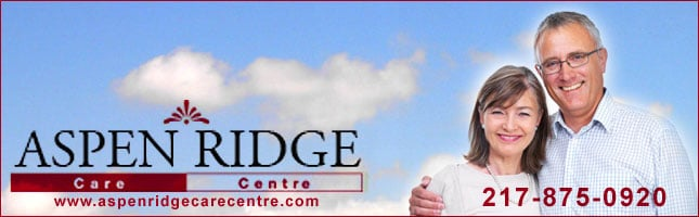 Aspen Ridge Care Centre - Sponsorship Header