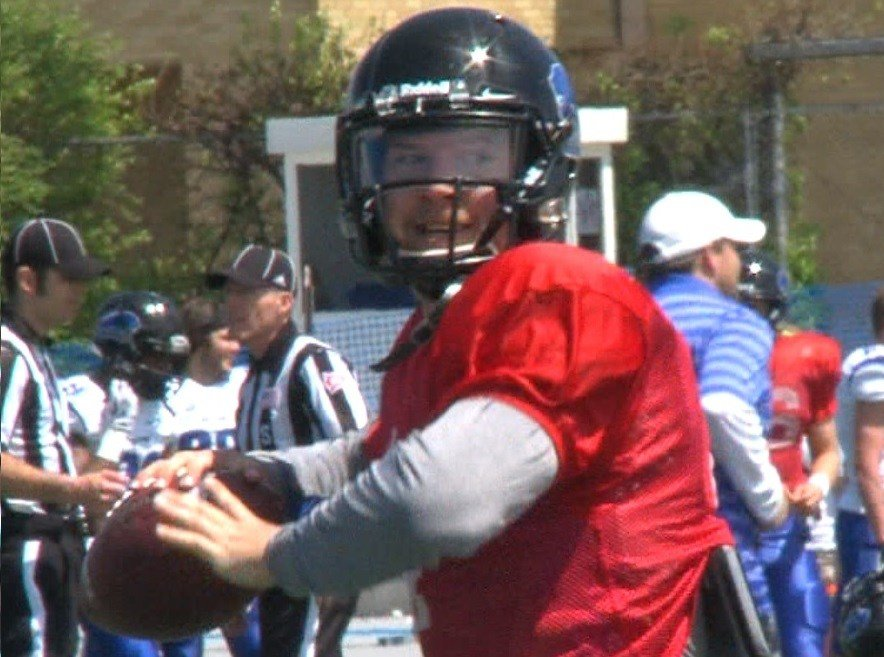 Andrew Manley is EIU's starting quarterback coming into camp.
