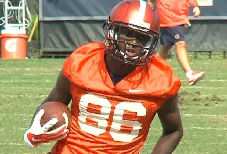 Freshman WR Malik Turner