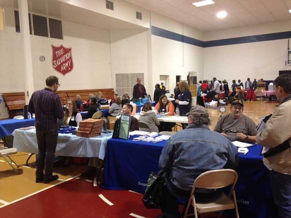 Decatur – Veterans lined up at the Decatur Salvation Army  ~ Wand Tv Local News Headlines