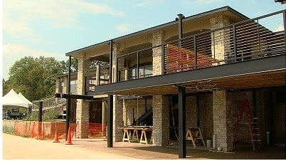 Construction at Decatur's Beach House nearing completion - Construction At Decatur's Beach House Nearing Completion - Wandtv