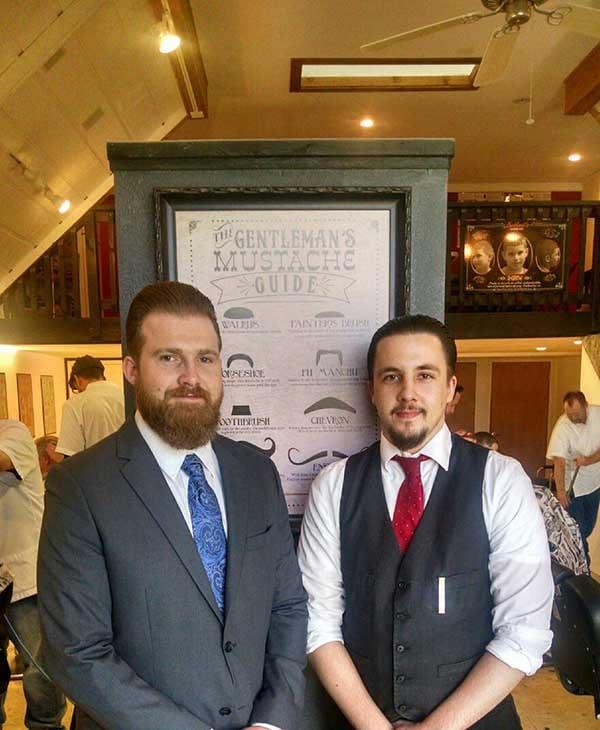 Brandon Lockhart and Jake Elam