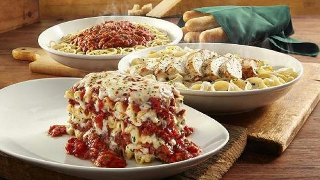 olive garden giving free lunch to select first responder groups - Olive Garden Lunch