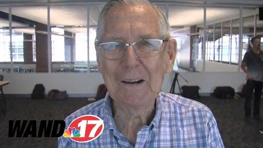 Fowler Connell, 94, is in his 69th year covering local sports in the 217 area code.