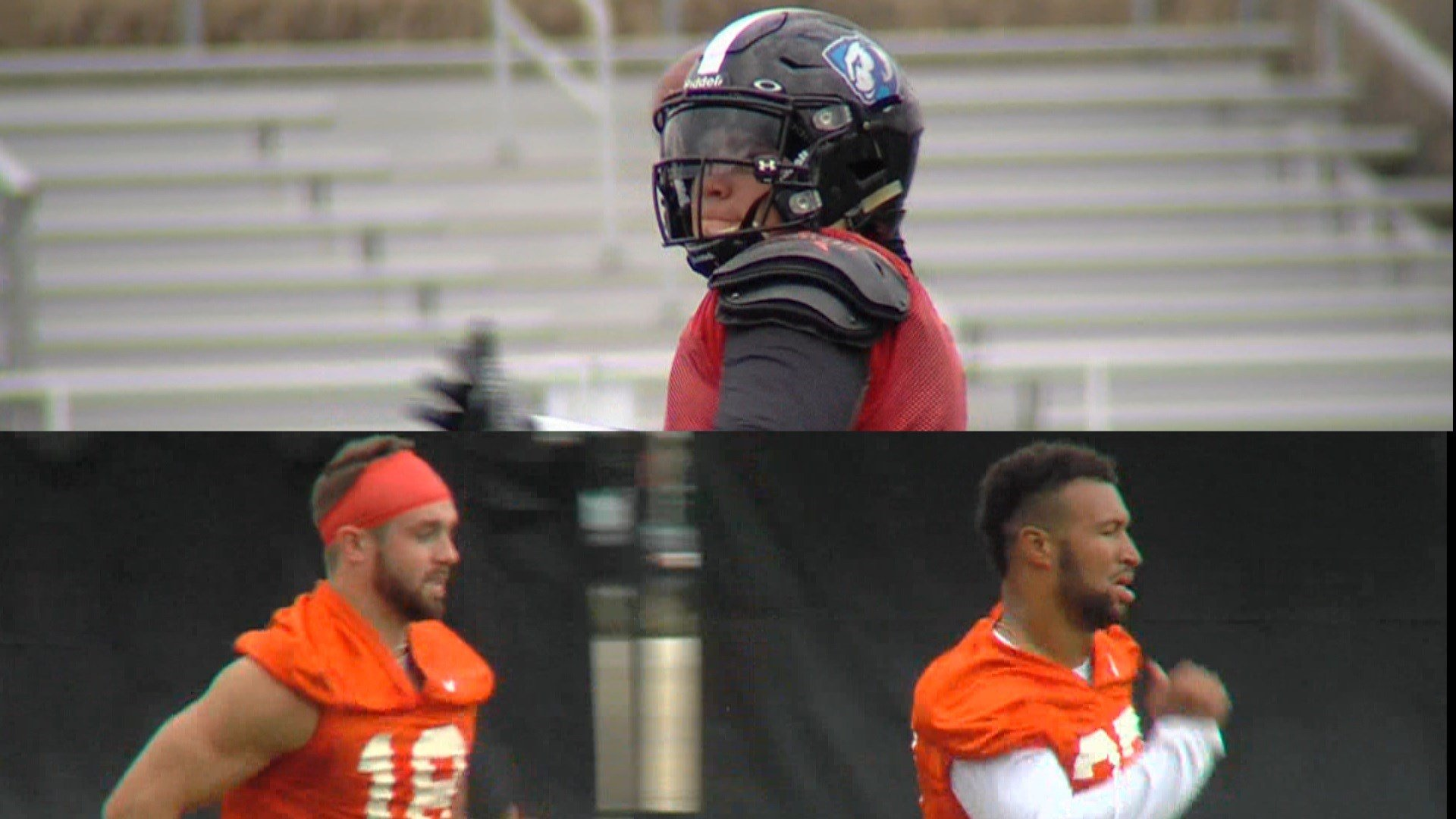 Eastern Illinois' Scotty Gilkey (above) and Illinois' Mike Dudek (bottom left) and Dre Brown (bottom right) have handled an onslaught of injuries and other setbacks. It's how they've responded that makes them Hero of the Week.